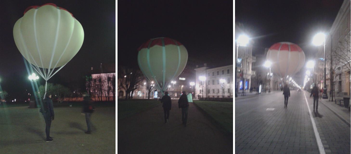 trys balionai